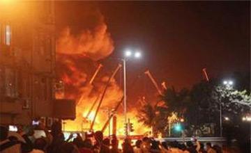 مرگ «پنج زائر» در آتشسوزی هتلی در کربلا / 2 نفر قطعا ایرانی هستند